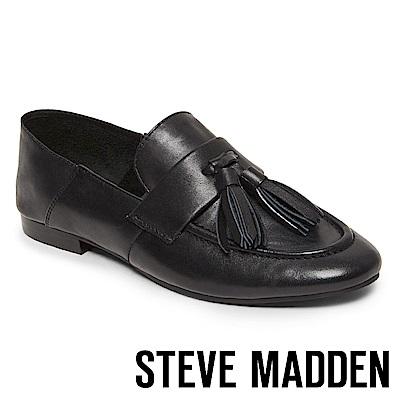 STEVE MADDEN-BECK流蘇樂福鞋-黑色