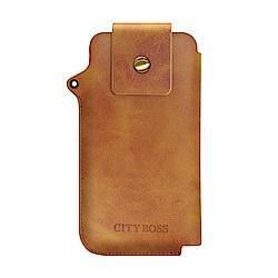 City for iPhone XS /X / XR 完美實用收納手機包-送掛繩