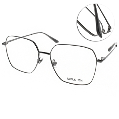 MOLSION 光學眼鏡 Angelababy代言 黑 #MJ7088 B10