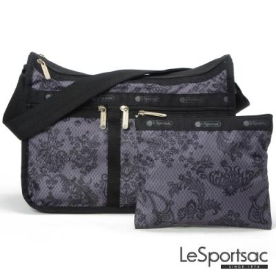 LeSportsac - Standard雙口袋A4大書包-附化妝包 (法式宮廷)