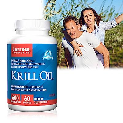 Jarrow賈羅公式 超級磷蝦油 600 mg軟膠囊( 60 粒/瓶)