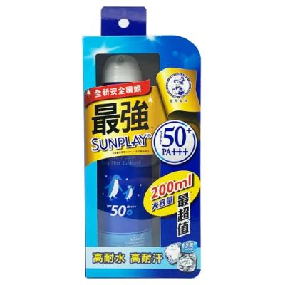 曼秀雷敦 SUNPLAY 防曬噴霧 酷涼清爽型 200ml SPF50+