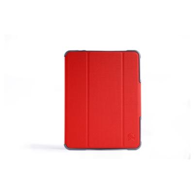 澳洲 STM Dux Plus Duo iPad Mini 5 專用內建筆槽軍規防摔殼-紅