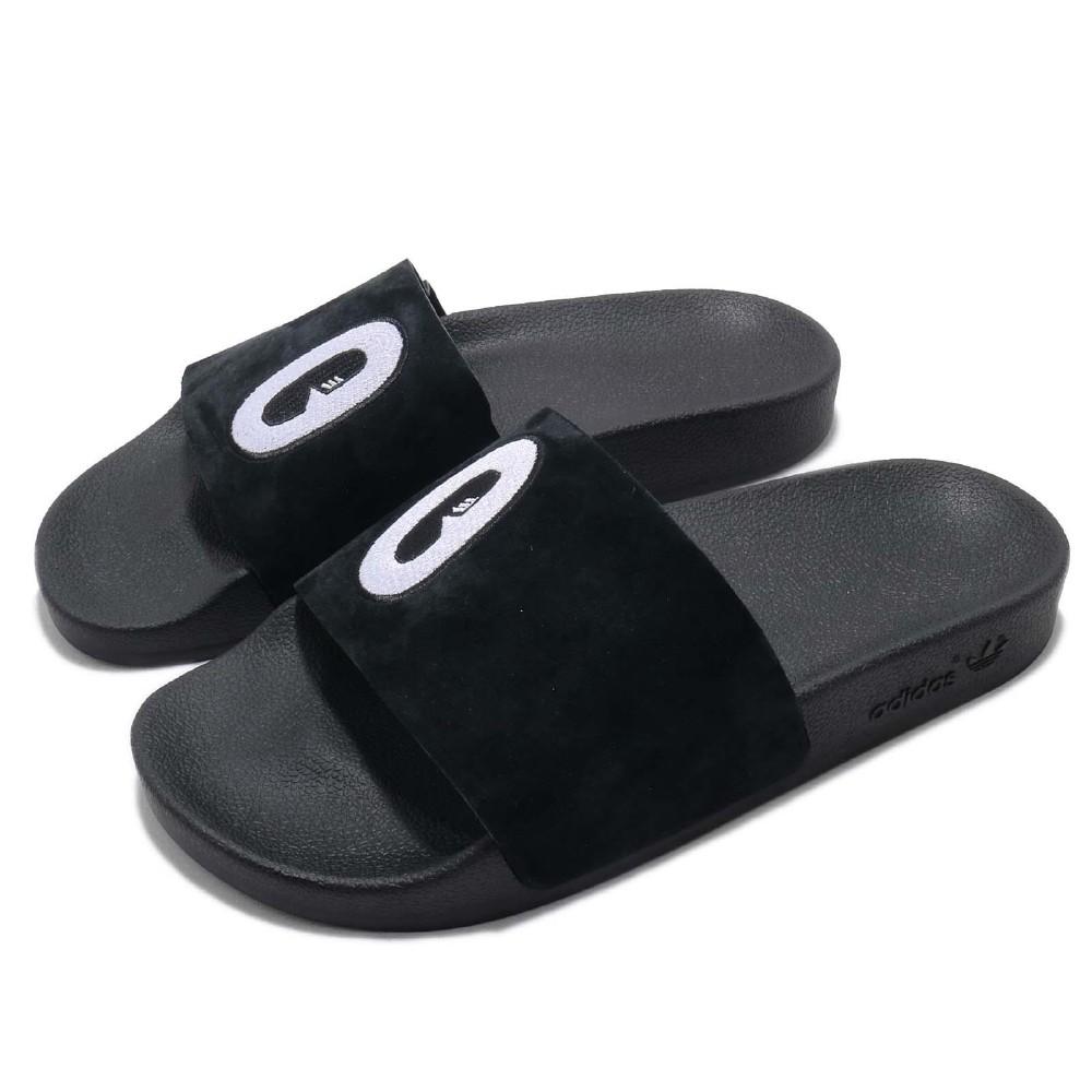 adidas 涼拖鞋 Adilette 套腳 穿搭 女鞋