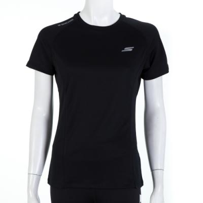 SKECHERS 女短袖衣 - P319W021-002K