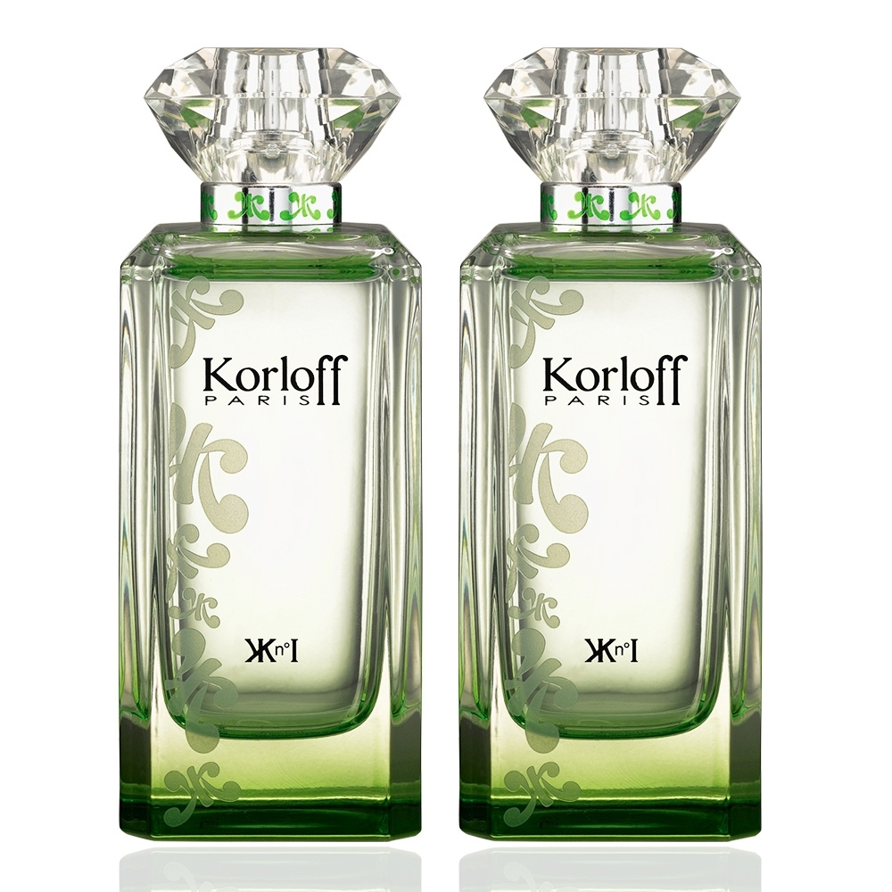 (買1送1)Korloff 翡翠神話 (GREEN DIAMOND) 淡香水 88ml