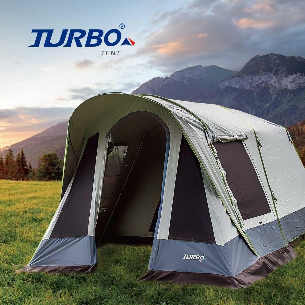 【Turbo Tent】Tourist 270 單件式ㄧ房一廳六人帳篷-強化版