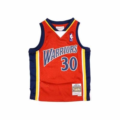 M&N 兒童 G1 Swingman復古球衣 勇士隊 09-10 Stephen Curry #30