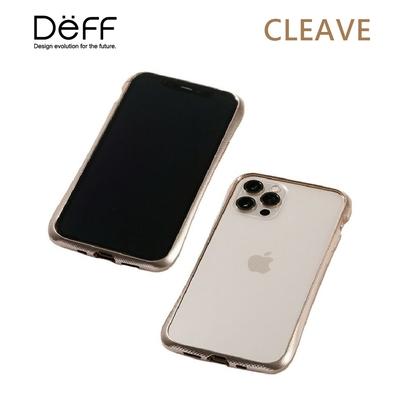 Deff CLEAVE 鋁合金保險桿 for iPhone 12/12 Pro 金色