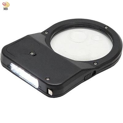月陽3種倍率隨身3+1LED放大鏡燈附捲尺(DT-316)