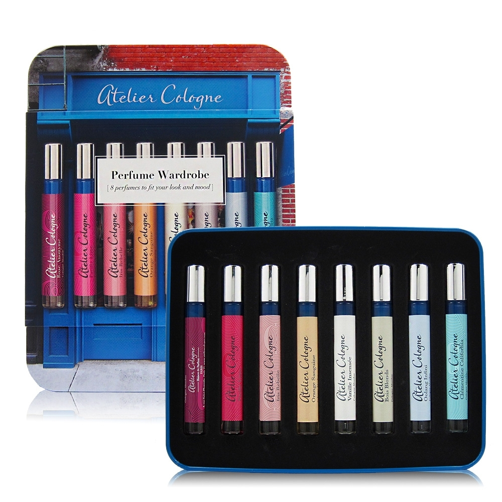 Atelier Cologne Perfume Wardrobe迷你香水套裝組4ml*8入