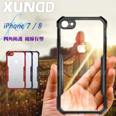 XUNDD for iPhone 7 / 8 生活簡約雙料手機殼