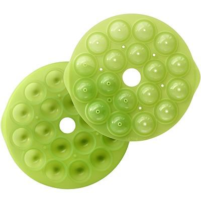 《LEKUE》18格咬一球烤盤(綠)