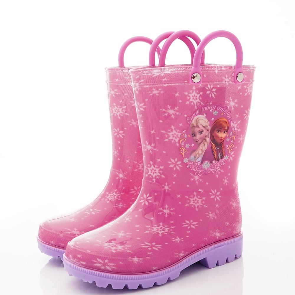 迪士尼童鞋 冰雪奇緣雨鞋款 NI4603粉紅(中小童段)
