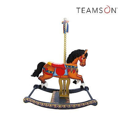 Teamson 遊樂園木馬搖搖椅