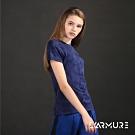 L'ARMURE 女裝 T-Mapping 幾何迷彩 T恤