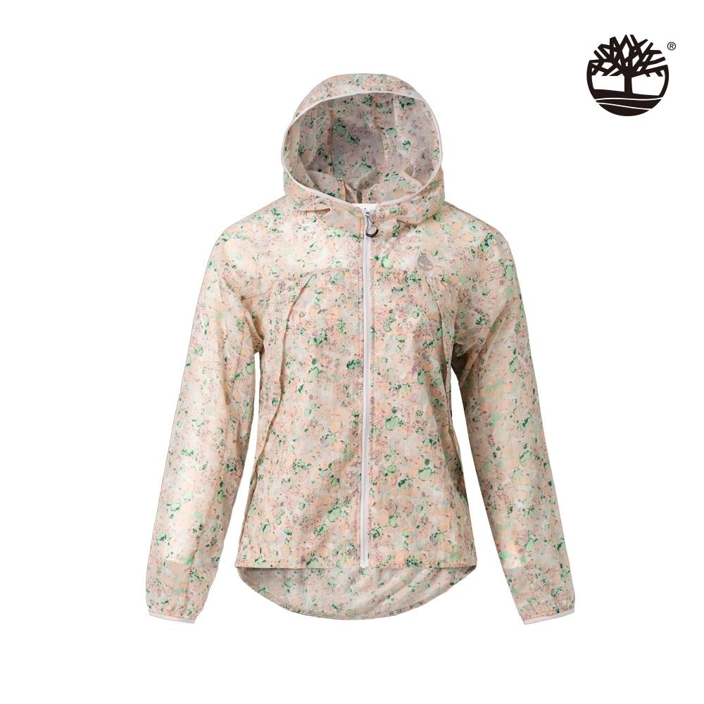 Timberland 女款玫瑰粉輕質尼龍外套|B4101