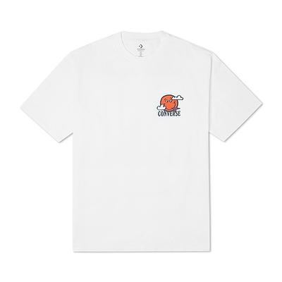 CONVERSE MOVING MOUNTAINS TEE 短袖上衣 男款 白色 10022040-A02