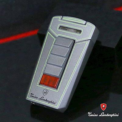 藍寶堅尼Tonino Lamborghini AERO LIGHTER 打火機(灰底綠線)