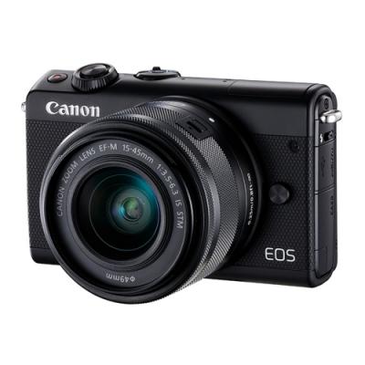 Canon EOS M100+15-45mm IS STM 變焦鏡組(公司貨)