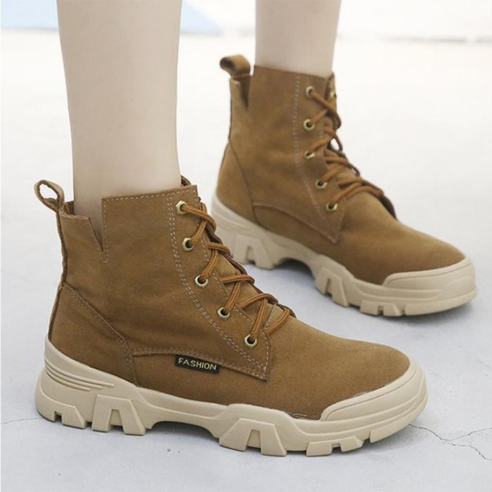 LN 輕量反絨休閒馬丁靴-3色 product image 1