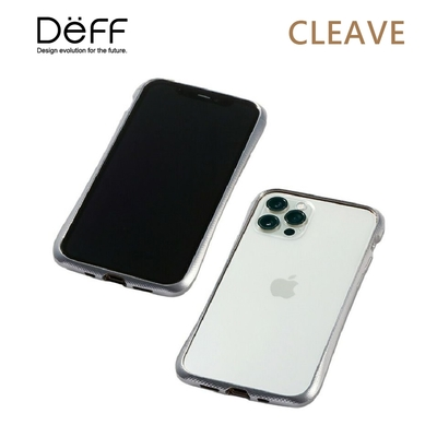 Deff CLEAVE 鋁合金保險桿 for iPhone 12/12 Pro 銀色