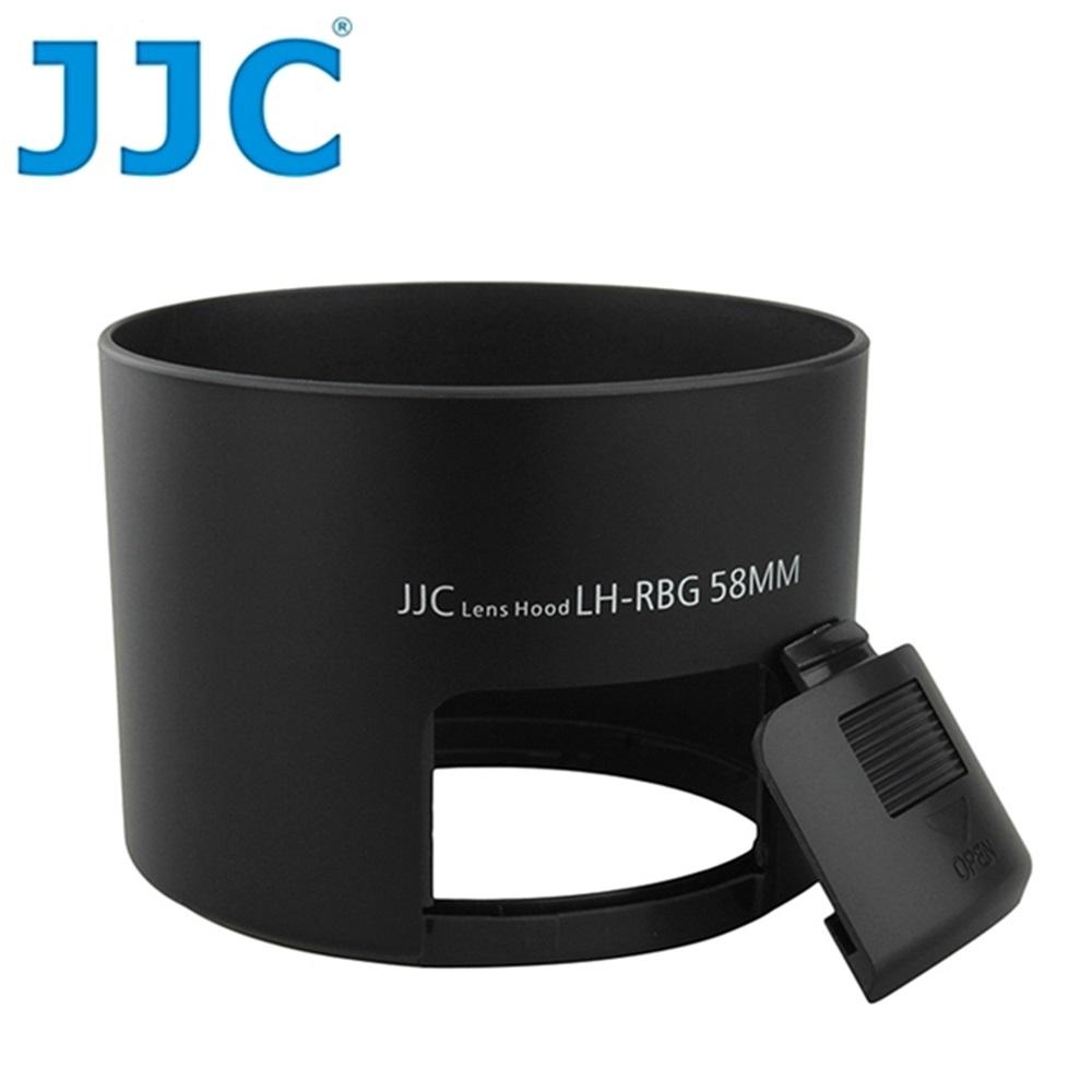 JJC副廠Pentax遮光罩PH-RBG 58mm遮光罩(黑色圓筒)相容PHRBG58適smc PENTAX-DA 55-300mm F4-5.8 ED