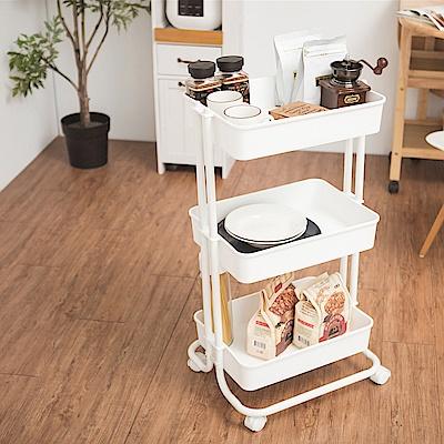 完美主義 三層推車/餐車/收納架/置物架/邊桌(5色)