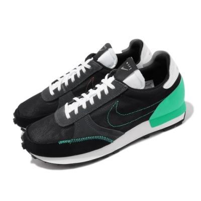 Nike 休閒鞋 Dbreak Type 復古 麂皮 男鞋 解構網面 低筒 球鞋穿搭 N 345 黑 綠 CJ1156001