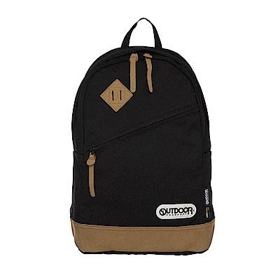 率真年代-14吋筆電皮底後背包-墨黑 OD62026BK