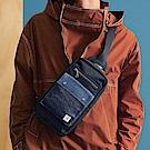 PORTER - 丹寧態度PATCH WORK型格單肩包 - 藍