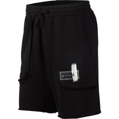 NIKE 短褲  運動 慢跑  黑  男款 CD0370010 AS KD M NK DRY SHORT FLEECE
