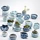 古緣居 創意海洋風格多肉植物海螺貝殼陶瓷小花盆A款(四個一組) product thumbnail 1