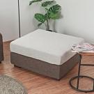 Home-Feeling 北歐風配色椅凳/可折洗/沙發矮凳/腳凳-90X79X43