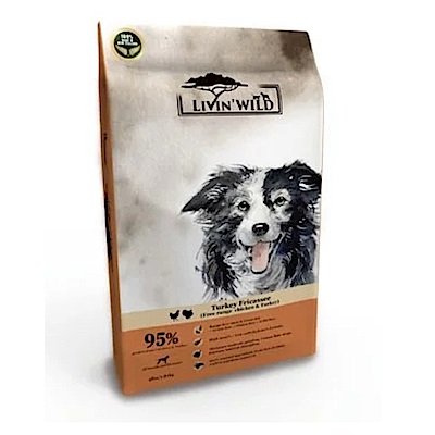 Livin Wild 野宴 全齡犬 放養雞&放養火雞 草飼無穀配方 15磅