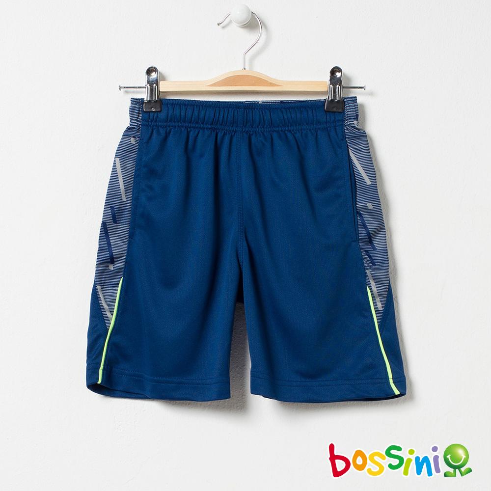 bossini男童-ZtayDry快乾短褲02綠松