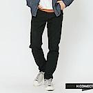 H:CONNECT 韓國品牌 男裝-簡約扣環設計牛仔褲-黑