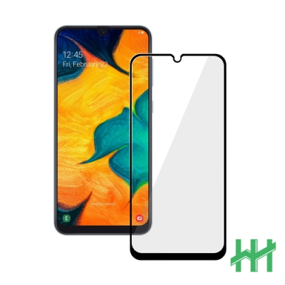 【HH】鋼化玻璃保護貼系列 Samsung Galaxy A30 (6.4吋)(全滿版黑)