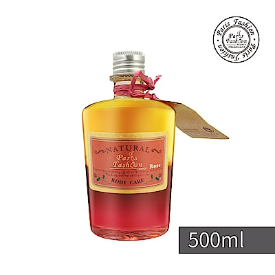 【Paris fragrance 巴黎香氛】雙嬌律動按摩油500ml-玫瑰Rose