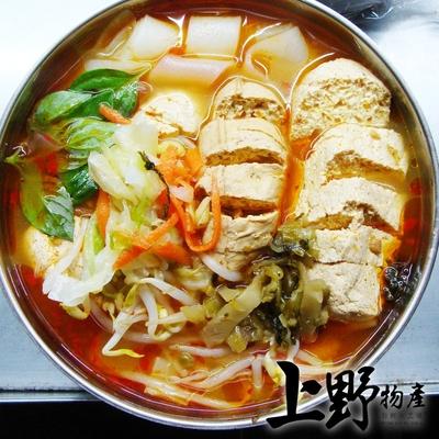 【上野物產】傳統香濃麻辣臭豆腐(500g±10%/固形物200g/包) x18包