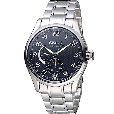 SEIKO Presage 經典動力顯示機械錶(SPB043J1)黑/40mm