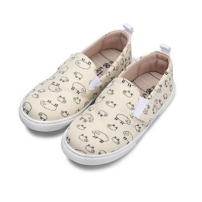 BuyGlasses 可愛逗趣!SHEEP兒童懶人鞋-米