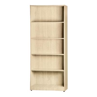 綠活居 戈普2.5尺開放式五格書櫃/收納櫃(四色)-74x27x181.5cm免組