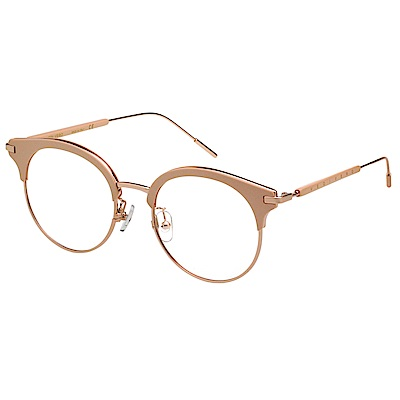 VEDI VERO 小復古眉框 光學眼鏡 (粉色)