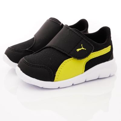 PUMA童鞋 大絆帶運動鞋款 ON90943-10黑(中小童段)
