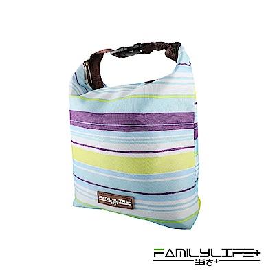 FL生活炫彩大容量加高便當盒保溫提袋
