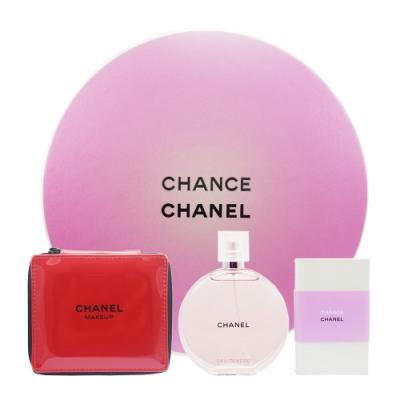 CHANEL 香奈兒 週年慶限定 粉紅甜蜜淡香水禮盒
