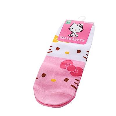 Hello kitty彈性直版襪(2雙一組) k50578 魔法Baby
