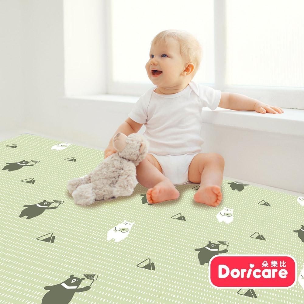 【Doricare朵樂比】超Q彈防護遊戲地墊120x180cm-快樂小熊-可裁切12mm