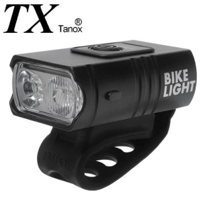 TX特林USB充電雙T6強亮自行車前燈(T-BK66-USB)